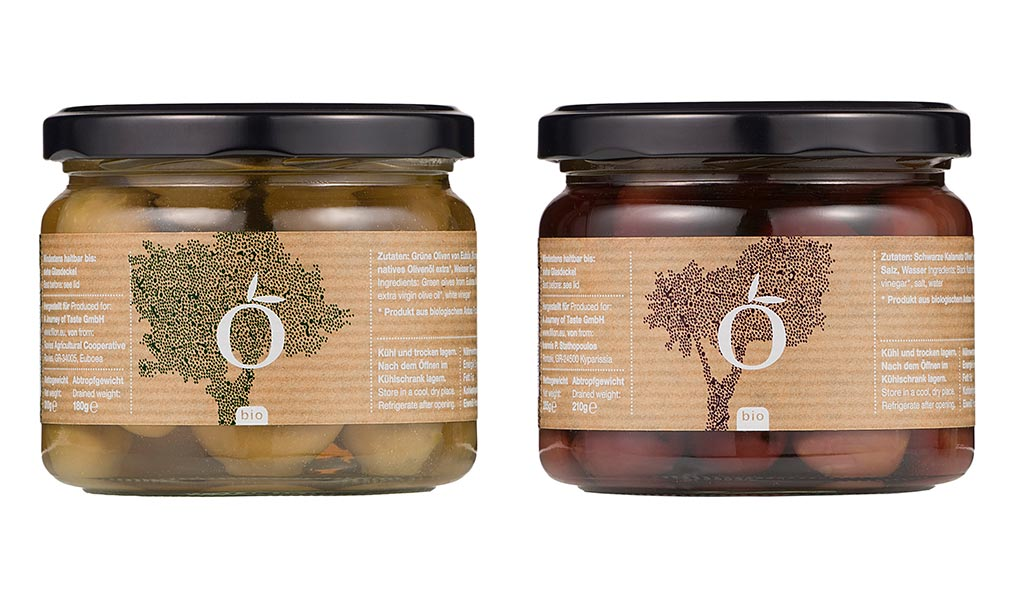 Filion packaging greek olives